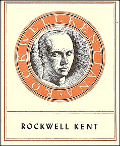 Rockwell Kent's personal bookplate