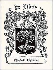 Bookplate design M-7