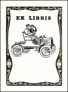 Antioch Bookplate design F-606