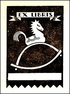 Antioch Bookplate design F-648