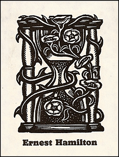 Antioch bookplate design F-698'/M-93