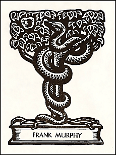 Antioch bookplate design M-94