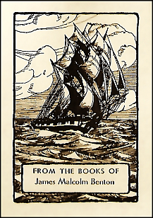 Antioch bookplate design F-620/M-96