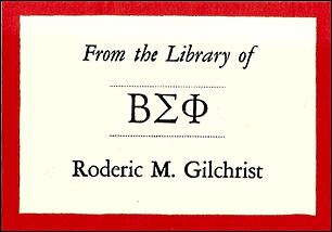 Antioch Bookplate E-140