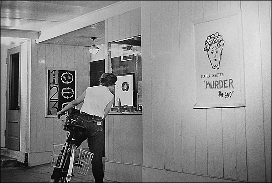 Little Art in the early 1960s with hand-drawn posters. Photograph courtesy of Antiochiana.