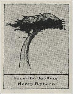 "Antioch bookplate ""Stubborn Cypress"""
