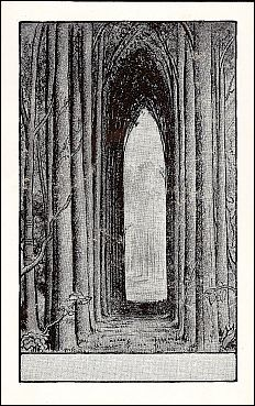 """Antioch bookplate design """"Cathedral"""" (F-723)"""